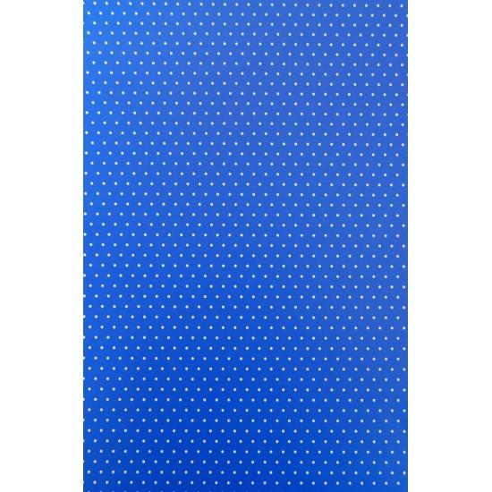 Xαρτόνι Α4, διπλής όψης 200γρ- Πουά Μπλε