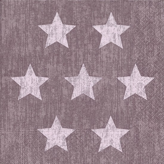 Χαρτοπετσέτα decoupage 33X33  Stella purple