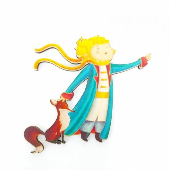 Μικρός πρίγκιπας #4 εκτύπωση σε ξύλο
