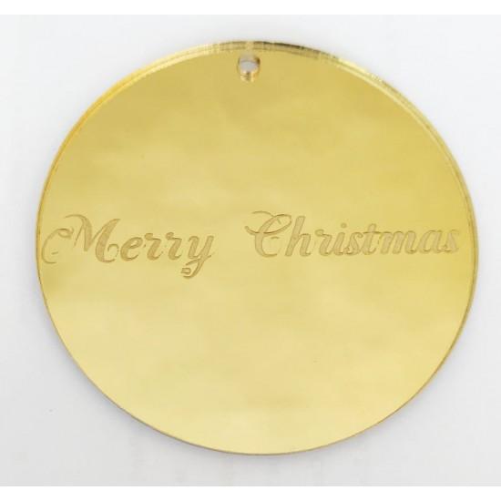 Μπάλα Plexiglass Gold Mirror