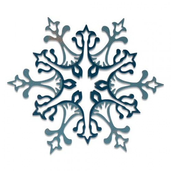 Sizzix Thinlits Die Set 2PK Stunning Snowflake by Tim Holtz